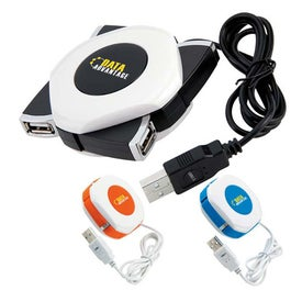 Orb Twist 4 Port USB 2.0 Hub