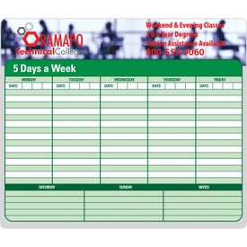 Imprinted 50 Sheet Paper Mouse Pad