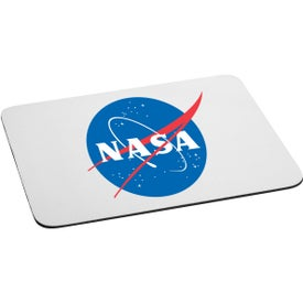 Rectangular Foam Mouse Pad Printed with Your Logo