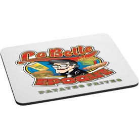 Personalized Rectangular Rubber Mouse Pad