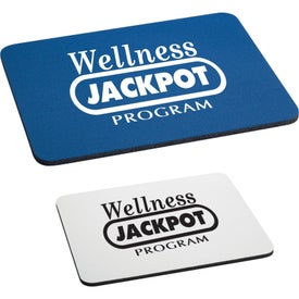 Rectangular Rubber Mouse Pad Branded with Your Logo