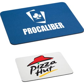 "Rectangular Rubber Mouse Pad (7 1/2"" x 9 1/8"", 1/8"")"
