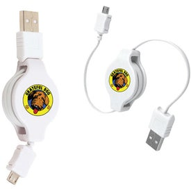 Retractable USB-Micro/USB Adapter for Your Organization