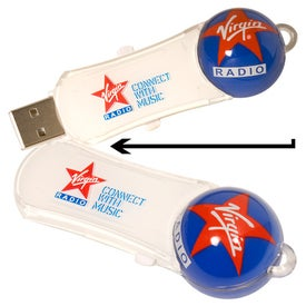 Roller Ball Memory Stick 2.0 - (4GB)