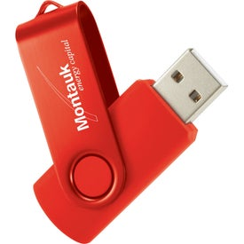 Rotate 2Tone USB Flash Drive for Your Company