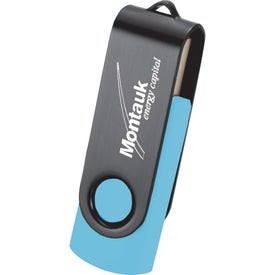 Rotate Black Clip Flash Drive for Your Company