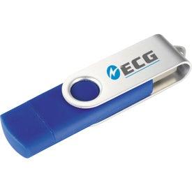 Monogrammed Rotate OTG Ultimate Flash Drive 2GB