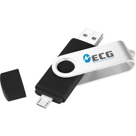 Company Rotate OTG Ultimate Flash Drive 2GB