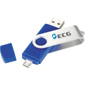Rotate OTG Ultimate Flash Drive for Advertising