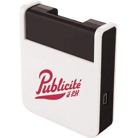 Logo Rotate Mobile Phone Holder and USB Hub