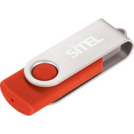 Imprinted Rotate USB Flash Drive V.2.0