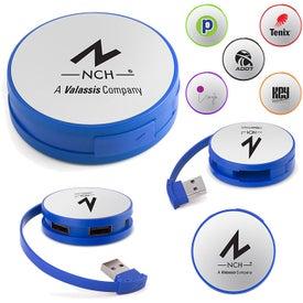 Round 4-Port USB Hubs