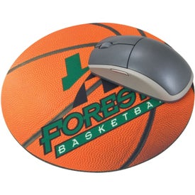 """Round Mousepad 8"""" for your School"""