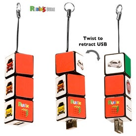 Rubik's Custom USB Puzzle Drive 2.0 - (1GB)