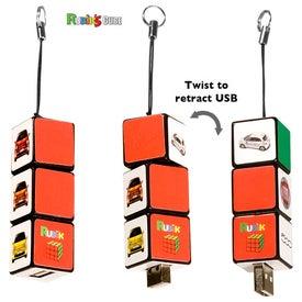 Rubik's Custom USB Puzzle Drive 2.0 - (2GB)
