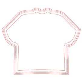 """Fabric Surface Shirt Mouse Pad (1/16"""")"""