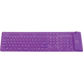 Silicone Keyboard Printed with Your Logo