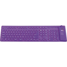 Silicone Keyboard for Advertising