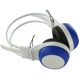 Silly Ears Silicone Stereo Headphones for Advertising