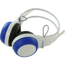Silly Ears Silicone Stereo Headphones with Your Slogan