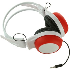 Silly Ears Silicone Stereo Headphones for Promotion