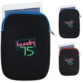 Small Tablet Sleeve with Your Slogan