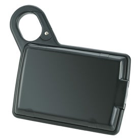 Monogrammed Solar Carabiner Charger and Power Bank