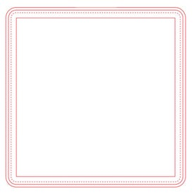 "Fabric Surface Square Mouse Pad (1/16"")"