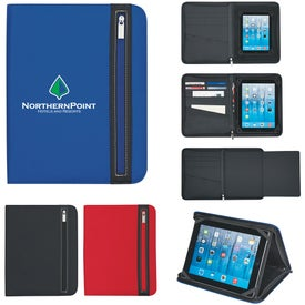 Company Tablet Case with Zipper Pocket