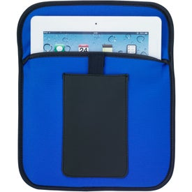 Printed Tablet Pouch with Phone Holder