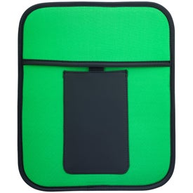 Tablet Pouch with Phone Holder Imprinted with Your Logo