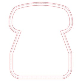 """Fabric Surface Telephone Mouse Pad (1/16"""")"""
