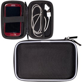 Tough Tech Accessory Case Imprinted with Your Logo