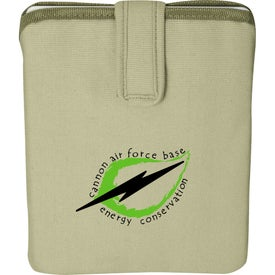 Branded Trash Talking Recycled Tablet Sleeve