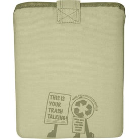 Company Trash Talking Recycled Tablet Sleeve