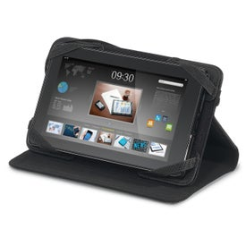 """Travis & Wells 7"""" Leather Tablet Stand for Promotion"""