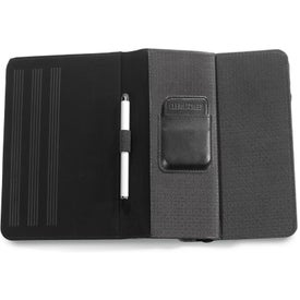 """Travis & Wells 7"""" Leather Tablet Stand for Advertising"""
