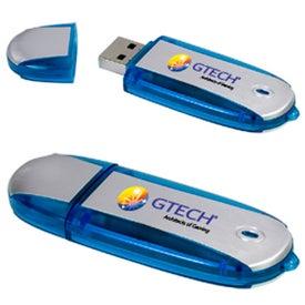 Monogrammed Two-Tone USB Memory Stick 2.0 -
