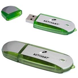Customized Two-Tone USB Memory Stick 2.0 -