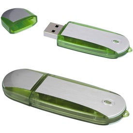Personalized Two-Tone USB Memory Stick 2.0 -