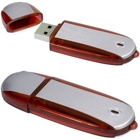 Two-Tone USB Memory Stick 2.0 - with Your Logo