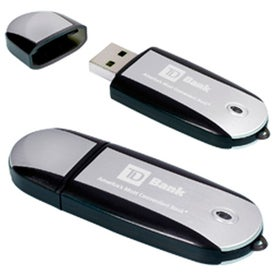 Two-Tone USB Memory Stick 2.0 - Branded with Your Logo