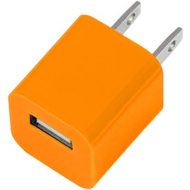 USB A/C Adapter with Your Logo