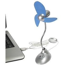 Personalized USB Desk Fan