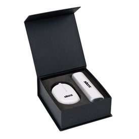 USB Mouse and 4 Port Hub Gift Set for Your Company