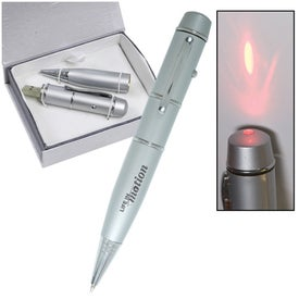 Monogrammed USB Pen Drive and Laser Pointer 2.0 - 8GB