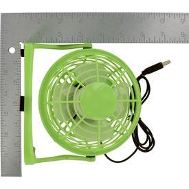 Customized USB Plug-In Fan