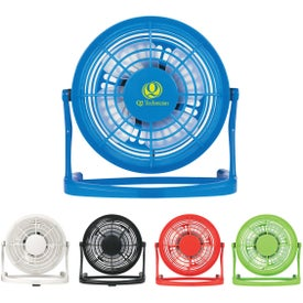 Monogrammed USB Plug-In Fan