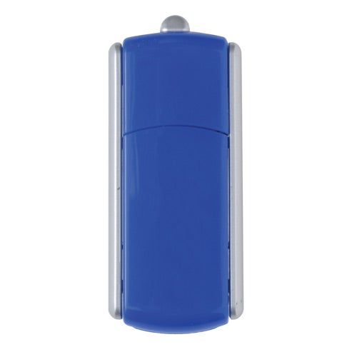 Blue USB Twist Flash Drive