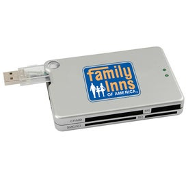 USB 1.1 Hub With Built-In Memory Card Reader